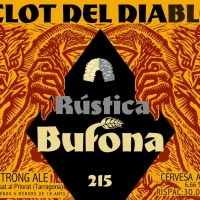 Rústica Bufona Clot Del Diable Golden Strong Ale