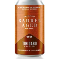 Tibidabo Brewing Barrel Aged 3 - Early Times