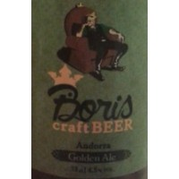 Boris Craft Beer Golden Ale