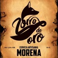 Zorro de Oro Morena