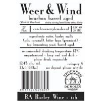 De Molen Weer & Wind Bourbon Barrel Aged