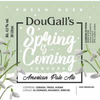 Dougall's Spring Is Coming