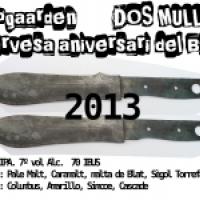 Zulogaarden Dos Mullos 2013