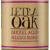 Letra On Oak Barrel Aged Belgian Blond