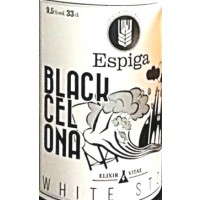 Espiga Black Cel Ona White Stout