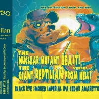 Yria / Reptilian The Nuclear Mutant Beast! vs The Giant Reptilian From Hell!
