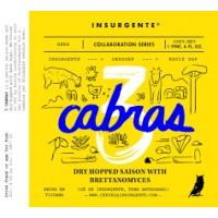 Insurgente / Oersoep / Rooie Dop 3 Cabras - Tres Cabras