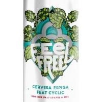 Espiga / Cyclic Beer Farm Feel Free