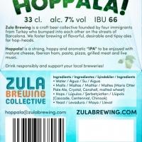 Zula Brewing Hoppala!