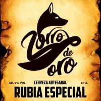 Zorro de Oro Rubia Especial