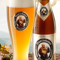 Franziskaner Premium Weissbier Naturtrüb
