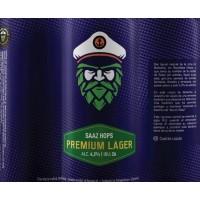 Capitán Lúpulo Premium Lager