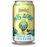 Founders Más Agave Premium Hard Seltzer Lime