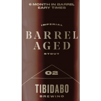Tibidabo Brewing Barrel Aged 2 - Breckenridge