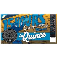 La Quince 15 Hours Session IPA Mosaic