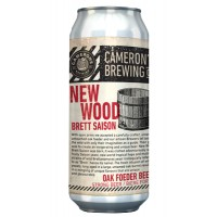 Camerons New Wood Brett Saison