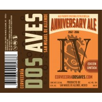 Dos Aves Anniversary Ale 2016