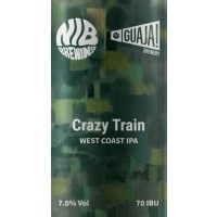 Guaja / NIB Brewing Crazy Train