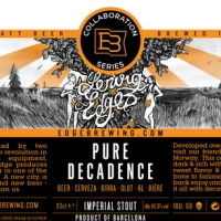 Edge Brewing / Lervig Pure Decadence